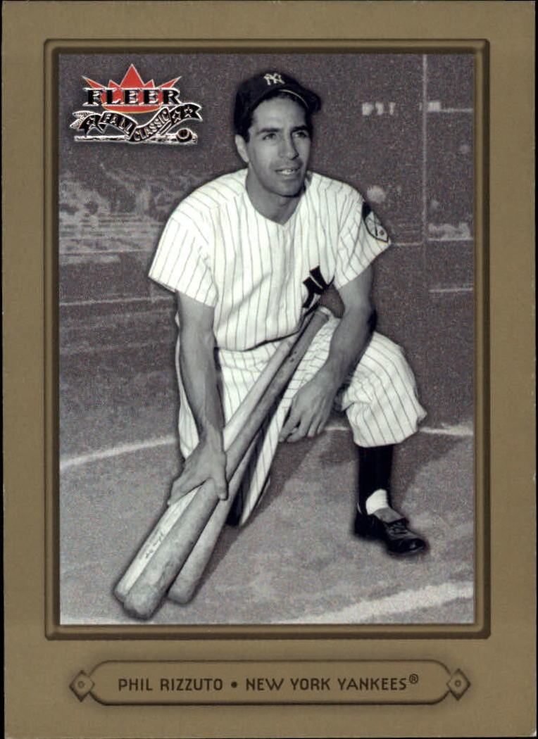 2002 Fleer Fall Classics #10 Phil Rizzuto