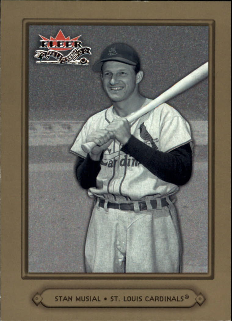 2002 Fleer Fall Classics #12 Stan Musial