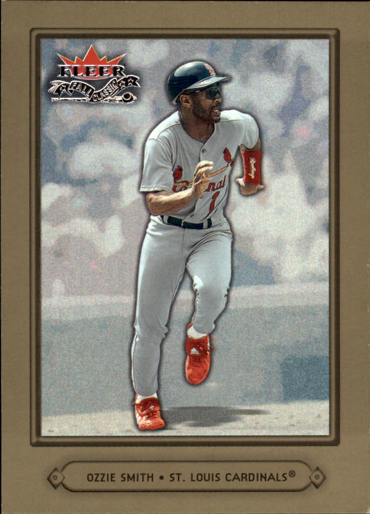 2002 Fleer Fall Classics #15 Ozzie Smith