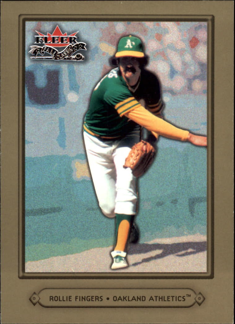 2002 Fleer Fall Classics #18 Rollie Fingers