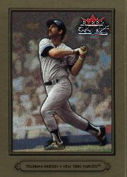 2002 Fleer Fall Classics #19 Thurman Munson front image