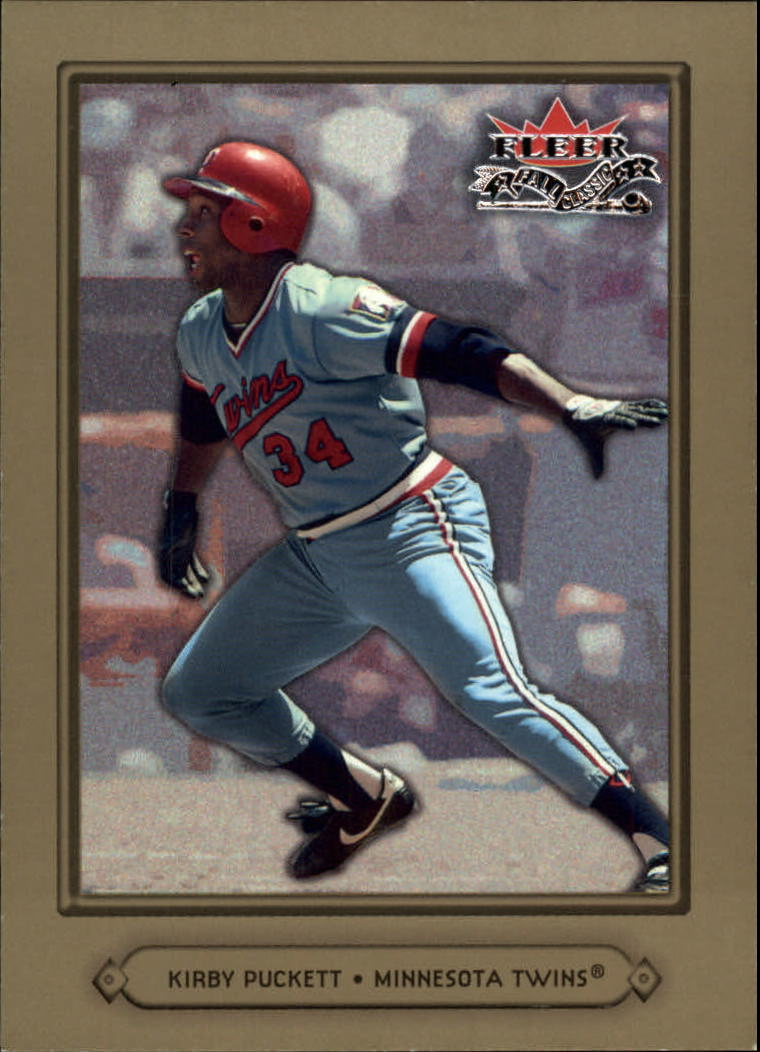 2002 Fleer Fall Classics #23 Kirby Puckett