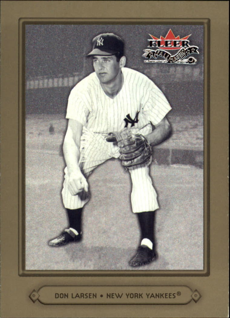2002 Fleer Fall Classics #25 Don Larsen