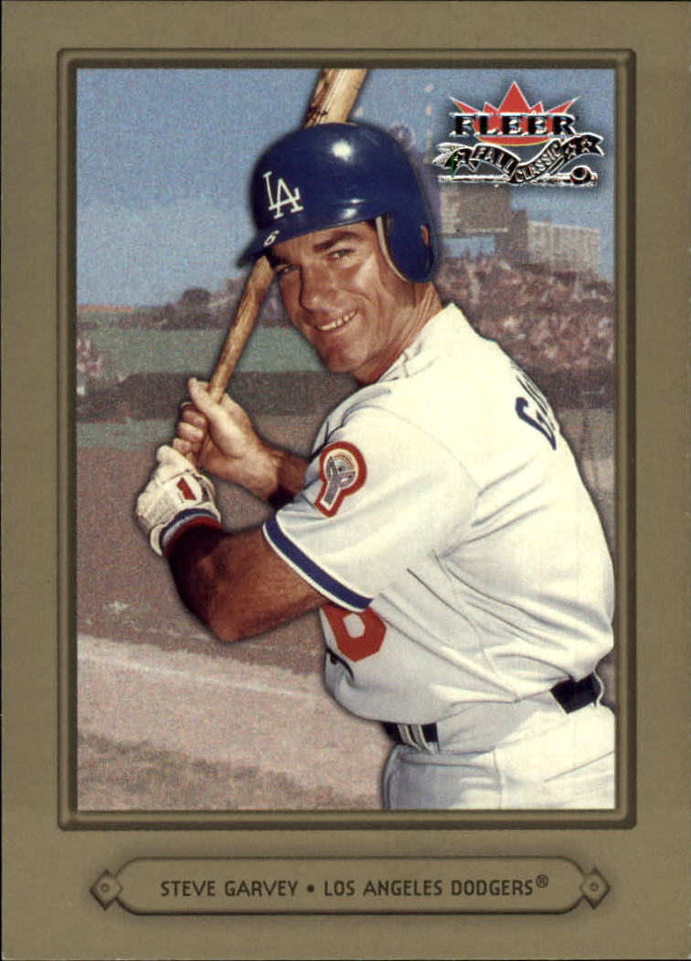 2002 Fleer Fall Classics #26A Steve Garvey Dodgers