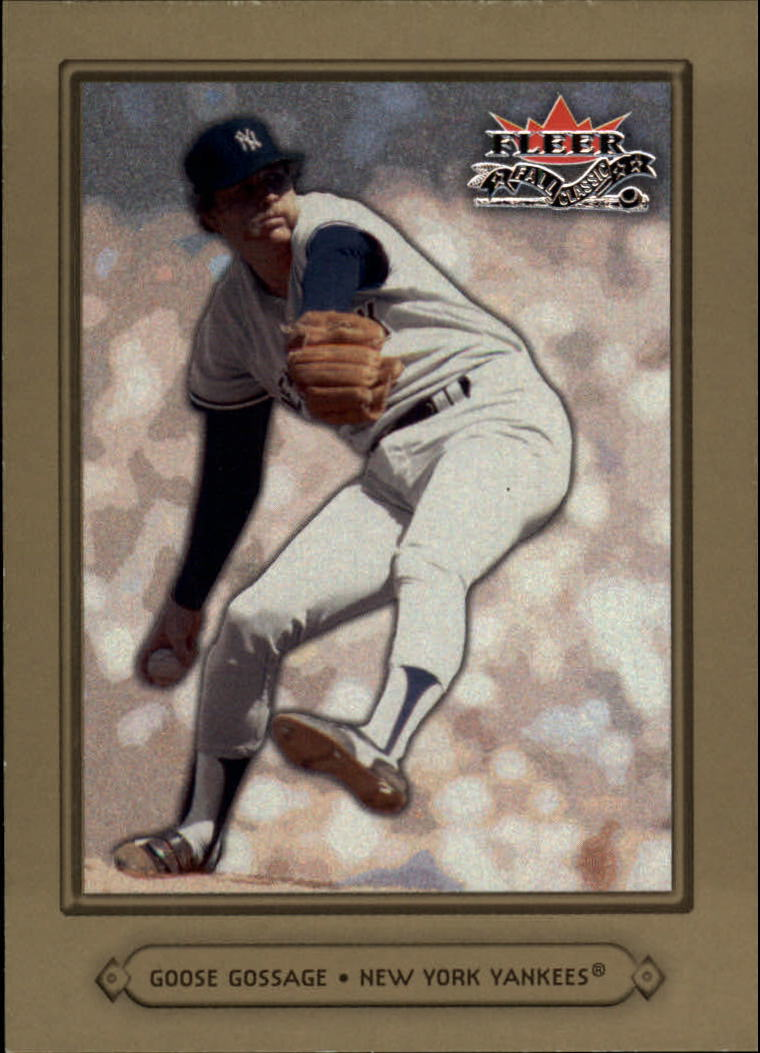 2002 Fleer Fall Classics #31 Goose Gossage