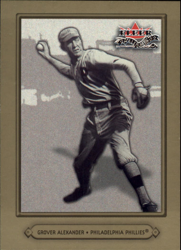 2002 Fleer Fall Classics #36 Grover Alexander
