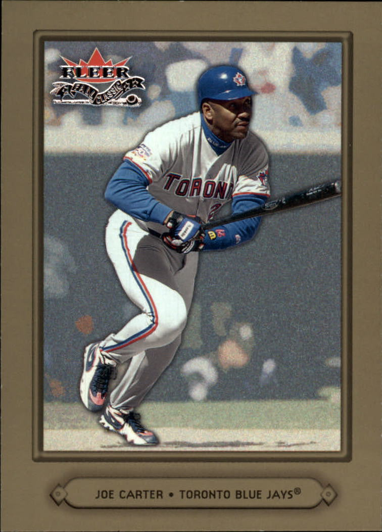 2002 Fleer Fall Classics #37 Joe Carter