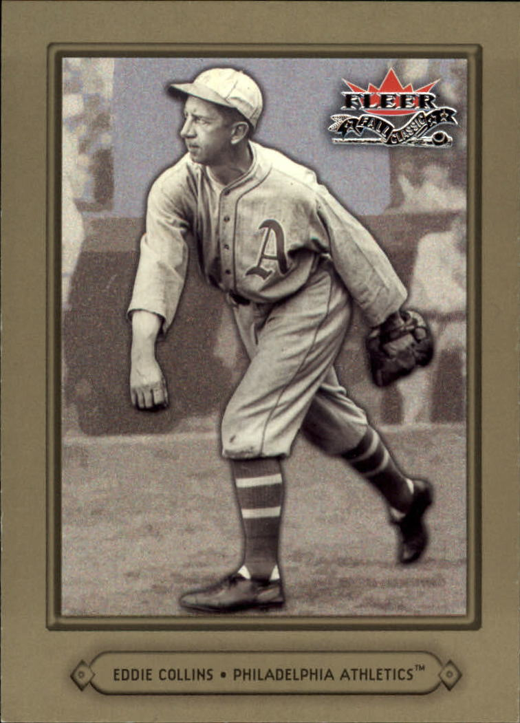 2002 Fleer Fall Classics #43A Eddie Collins A's