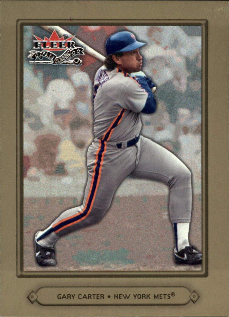 2002 Fleer Fall Classics #49 Gary Carter