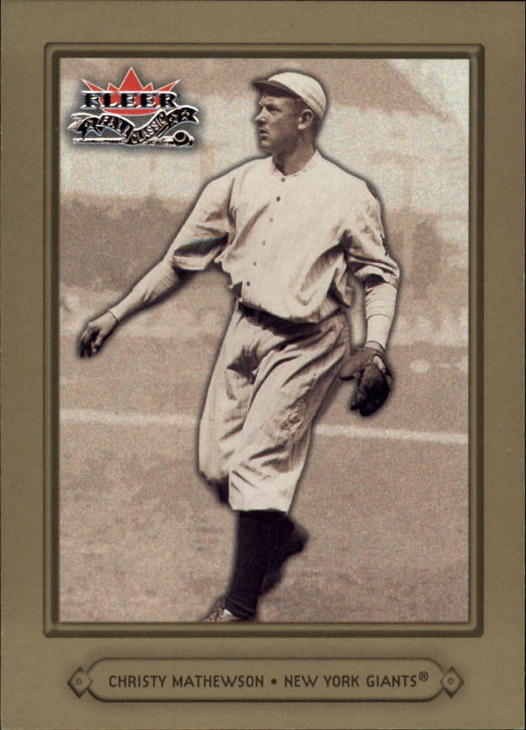 2002 Fleer Fall Classics #56 Christy Mathewson