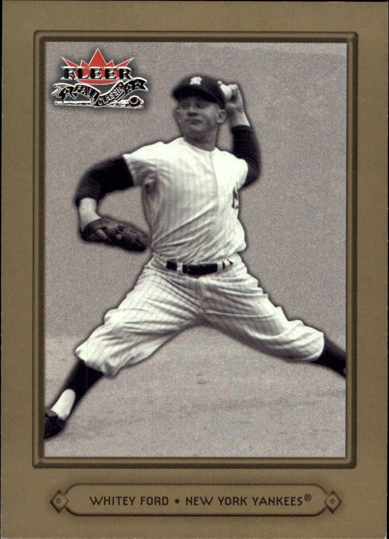 2002 Fleer Fall Classics #58 Whitey Ford