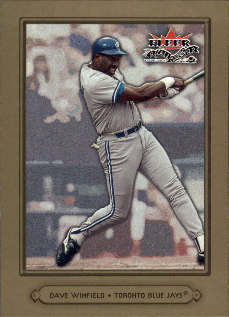2002 Fleer Fall Classics #62A Dave Winfield Blue Jays