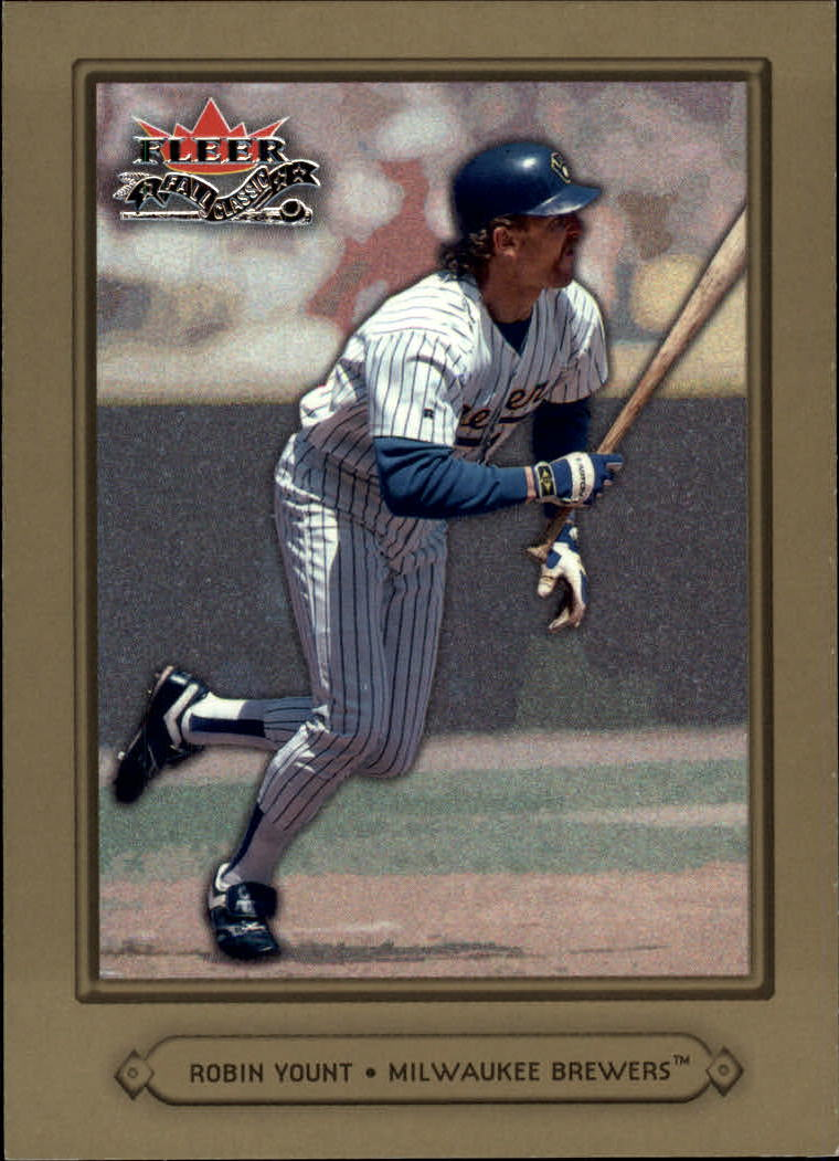 2002 Fleer Fall Classics #63 Robin Yount