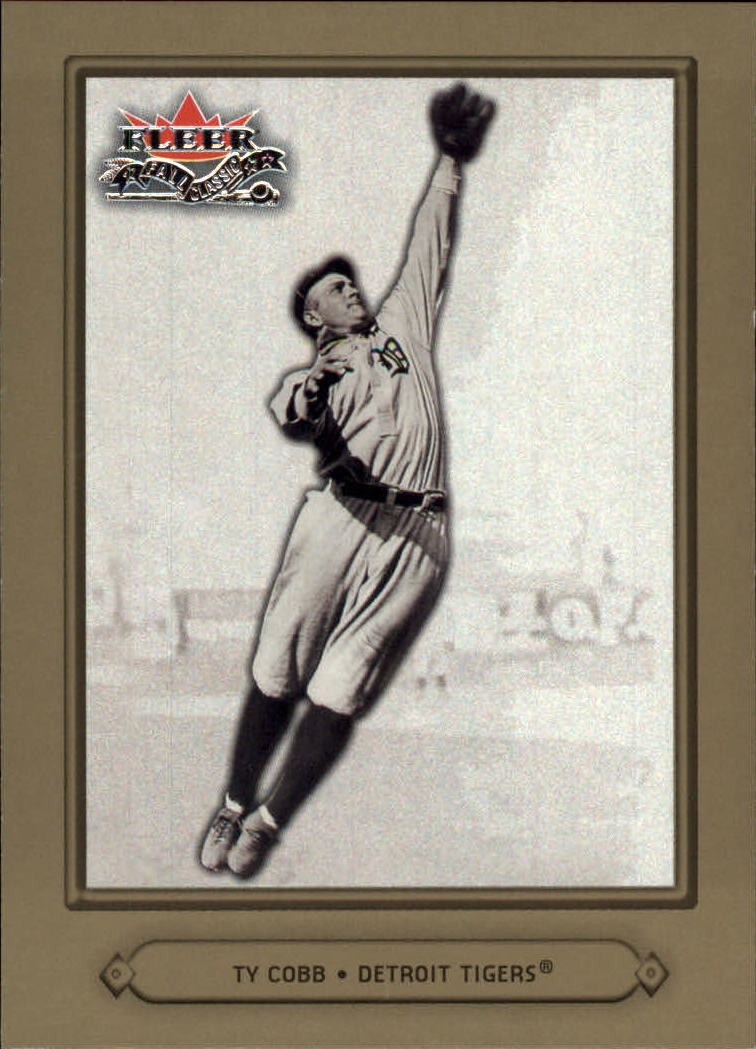 2002 Fleer Fall Classics #65 Ty Cobb