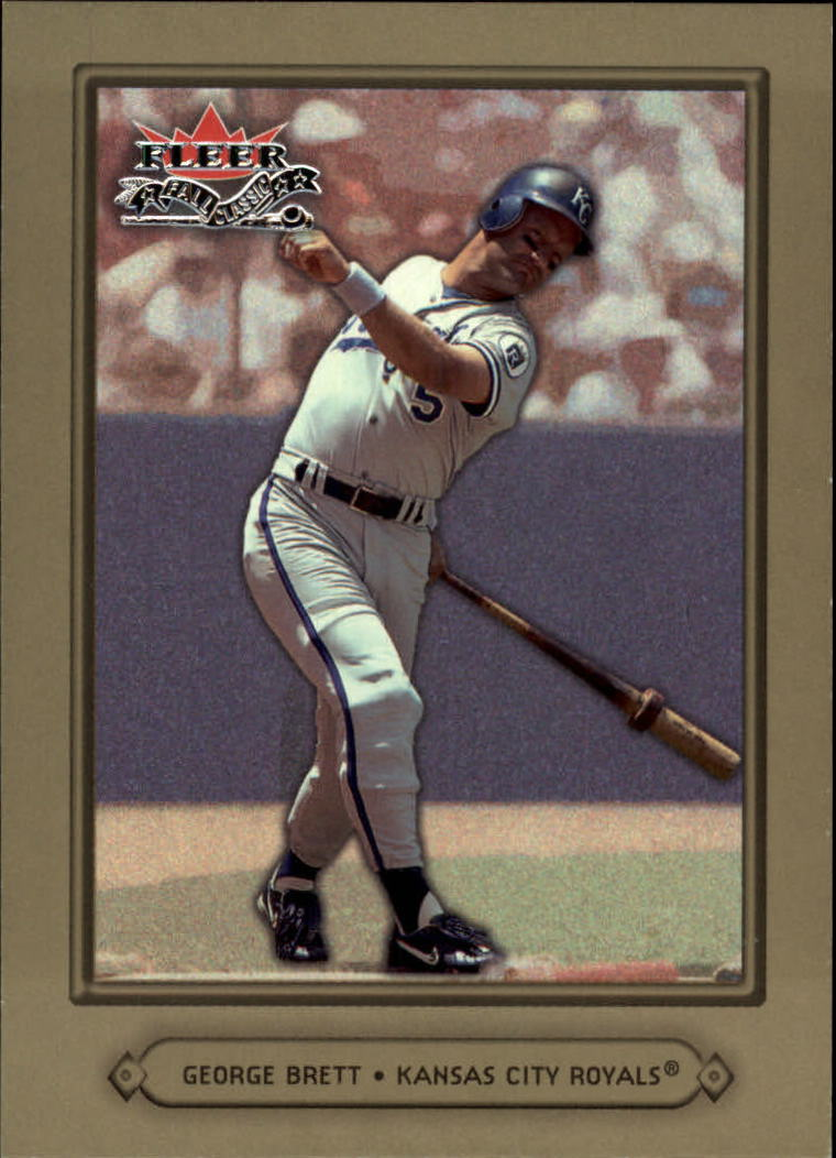 2002 Fleer Fall Classics #77 George Brett