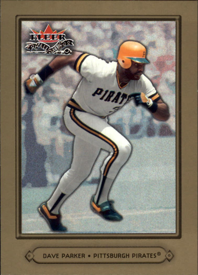 2002 Fleer Fall Classics #78A Dave Parker Pirates