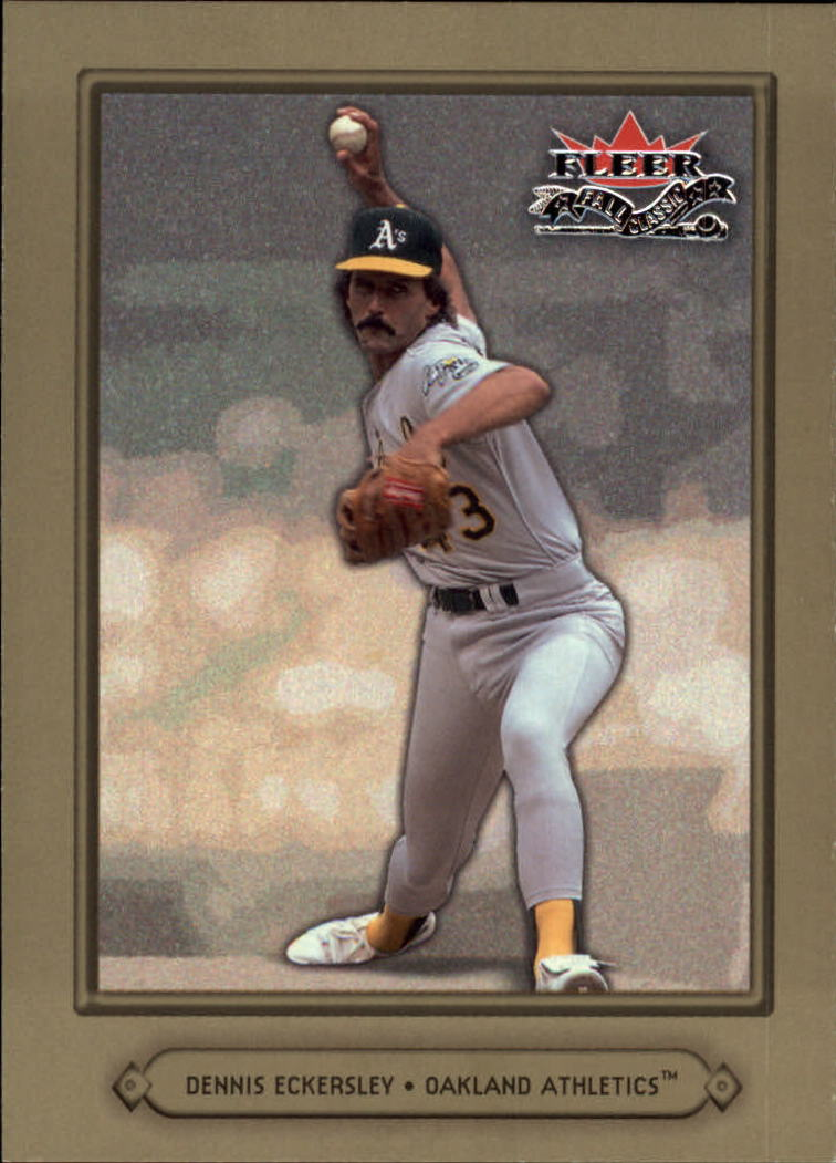 2002 Fleer Fall Classics #82 Dennis Eckersley