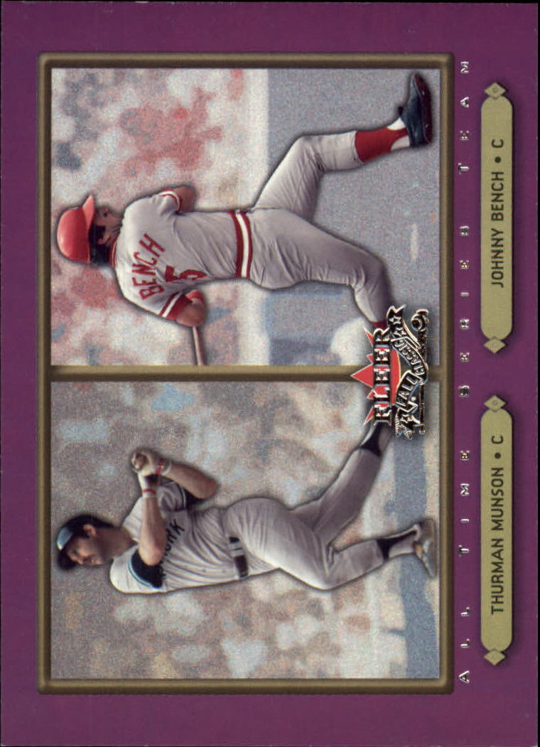 2002 Fleer Fall Classics #95 T.Munson/J.Bench