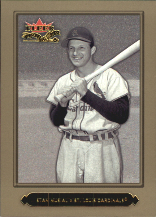 2002 Fleer Fall Classics Championship Gold #12 Stan Musial