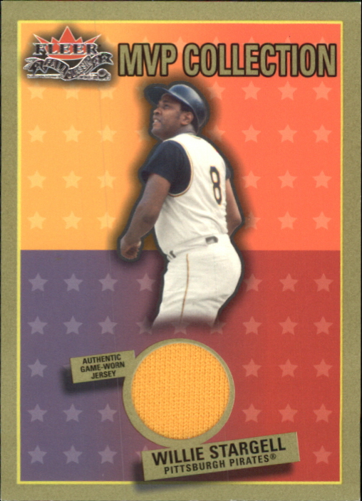 2002 Fleer Fall Classics MVP Collection Game Used #WS Willie Stargell Jsy SP/200