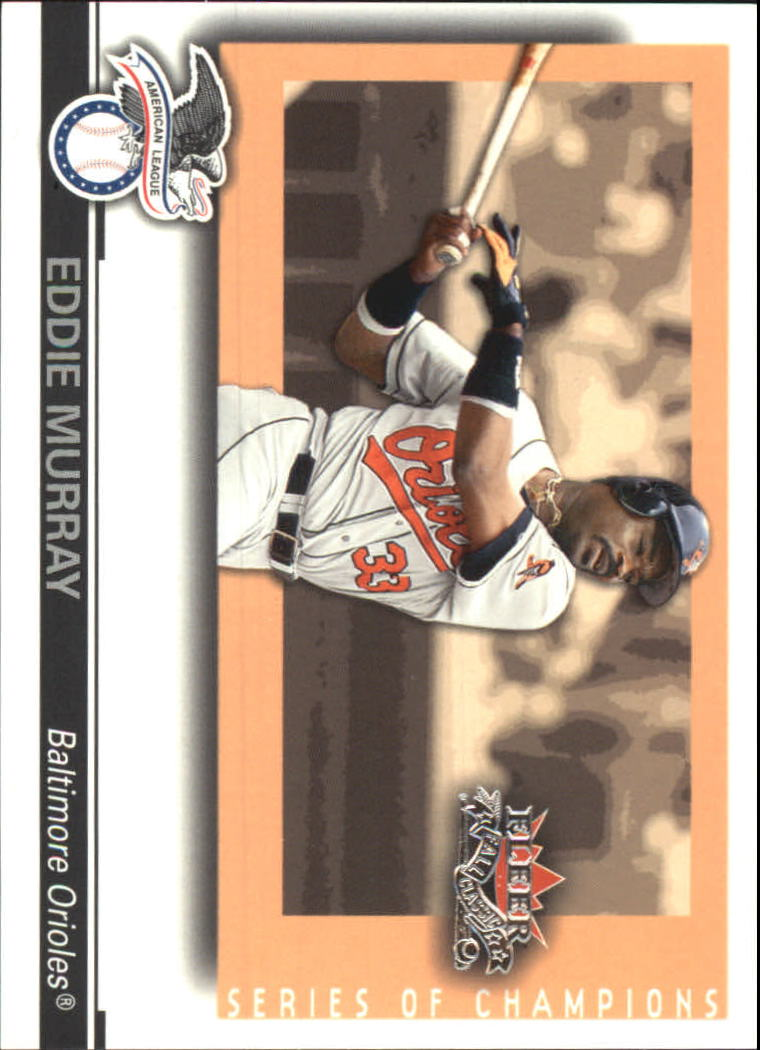 2002 Fleer Fall Classics Series of Champions #10 Eddie Murray