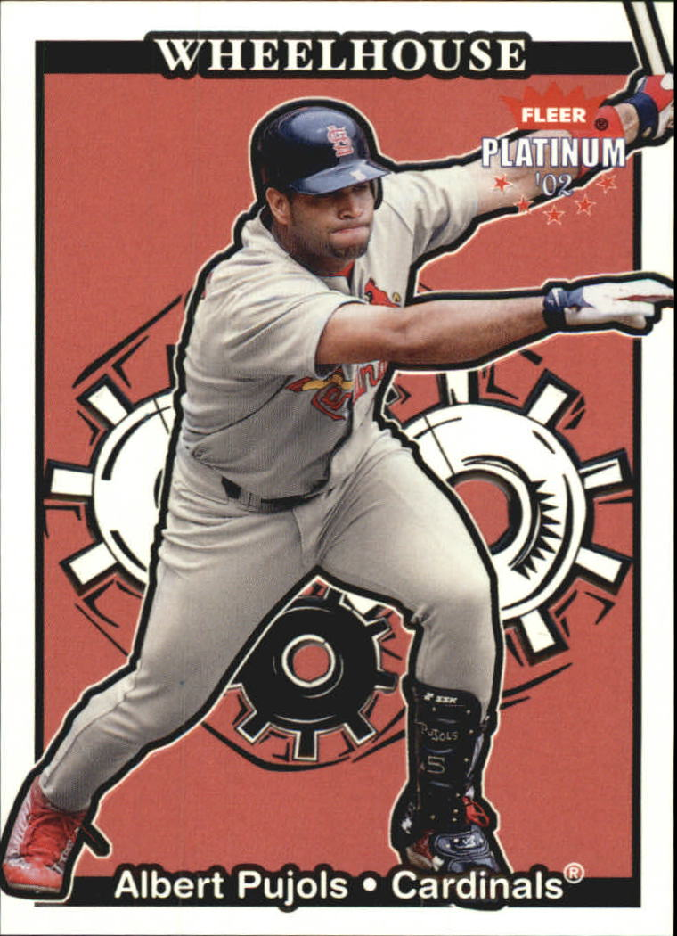 2002 Fleer Platinum Wheelhouse #11 Albert Pujols