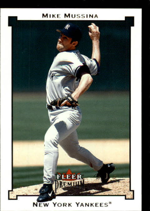 2002 Fleer Premium #6 Mike Mussina