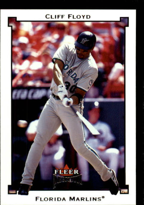 2002 Fleer Premium #12 Cliff Floyd