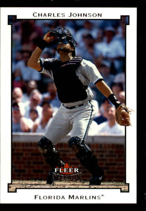 2002 Fleer Premium #20 Charles Johnson