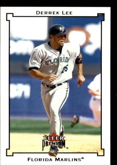 2002 Fleer Premium #28 Derrek Lee