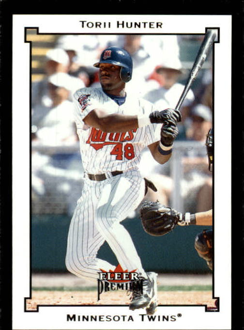 2002 Fleer Premium #29 Torii Hunter