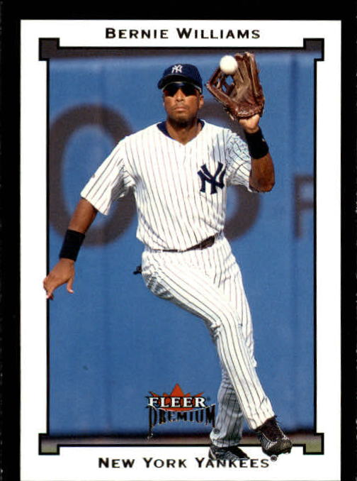 2002 Fleer Premium #38 Bernie Williams