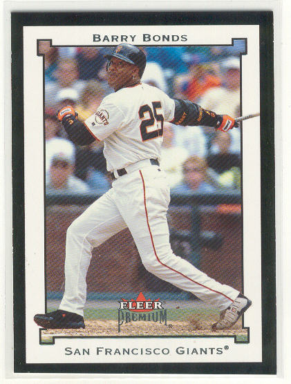 2002 Fleer Premium #39 Barry Bonds