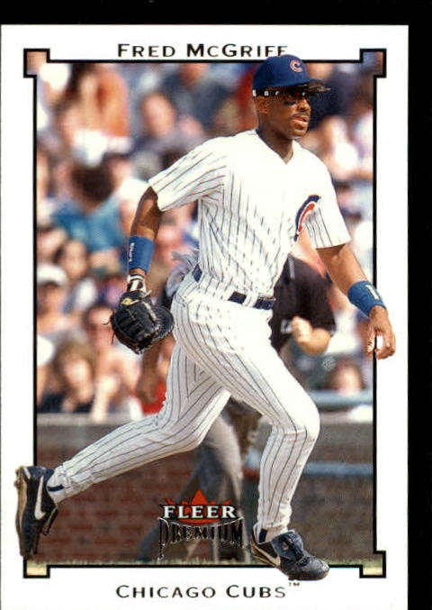 2002 Fleer Premium #74 Fred McGriff