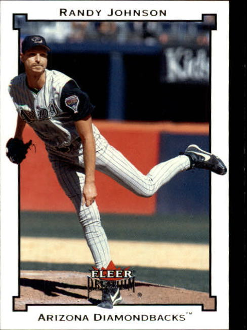 2002 Fleer Premium #81 Randy Johnson