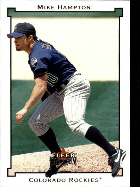 2002 Fleer Premium #99 Mike Hampton