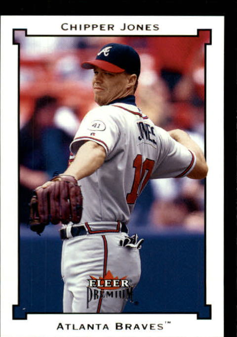 2002 Fleer Premium #152 Chipper Jones