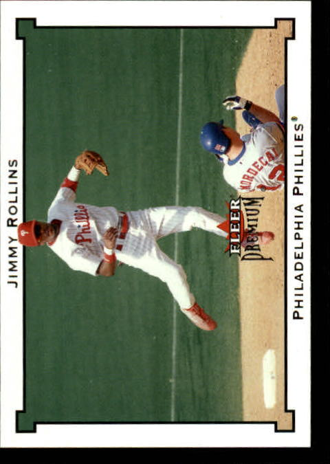 2002 Fleer Premium #157 Jimmy Rollins