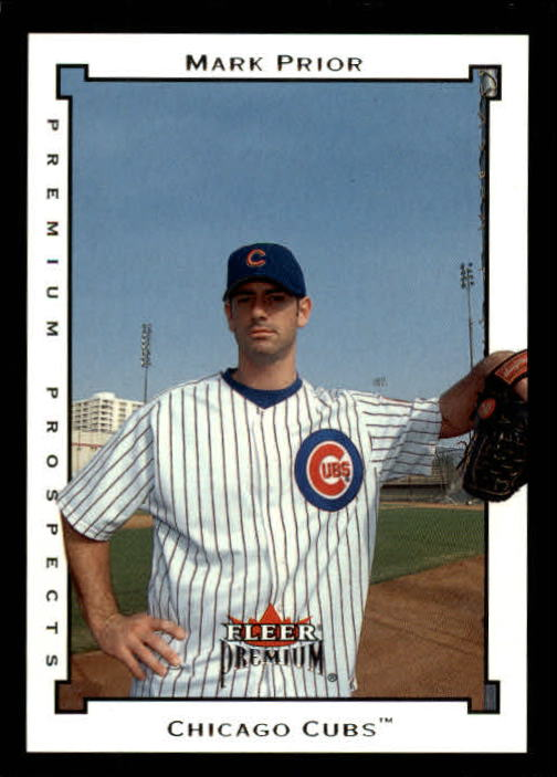 2002 Fleer Premium #204 Mark Prior PROS