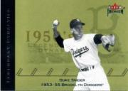 2002 Fleer Premium Legendary Dynasties #15 Duke Snider