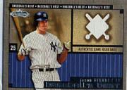 2002 Fleer Showcase Baseball's Best Memorabilia #19 Jason Giambi Base