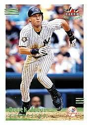 2002 Fleer Triple Crown Home Run Parallel #2 Derek Jeter/21