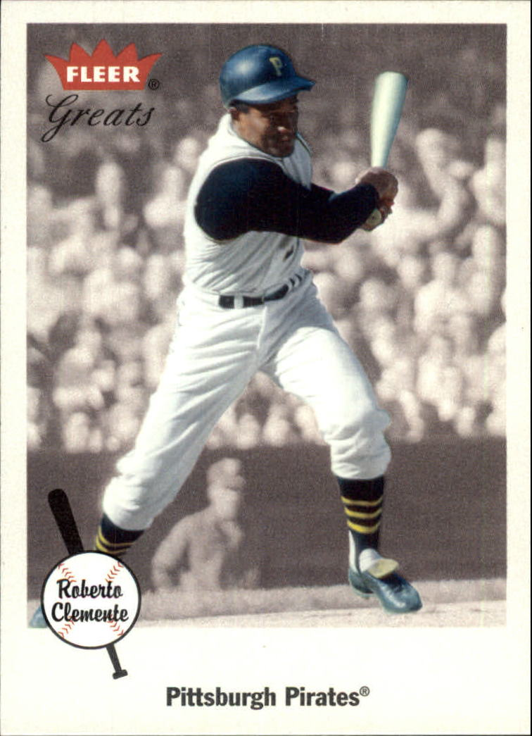 2002 Greats of the Game #3 Roberto Clemente