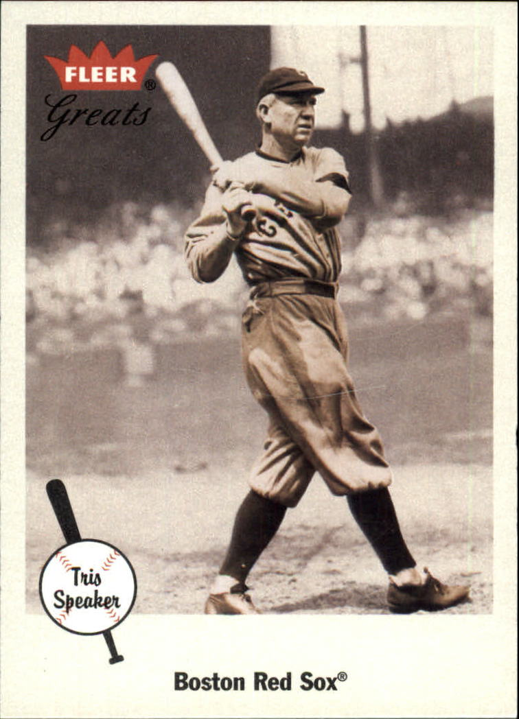 2002 Greats of the Game #5 Tris Speaker