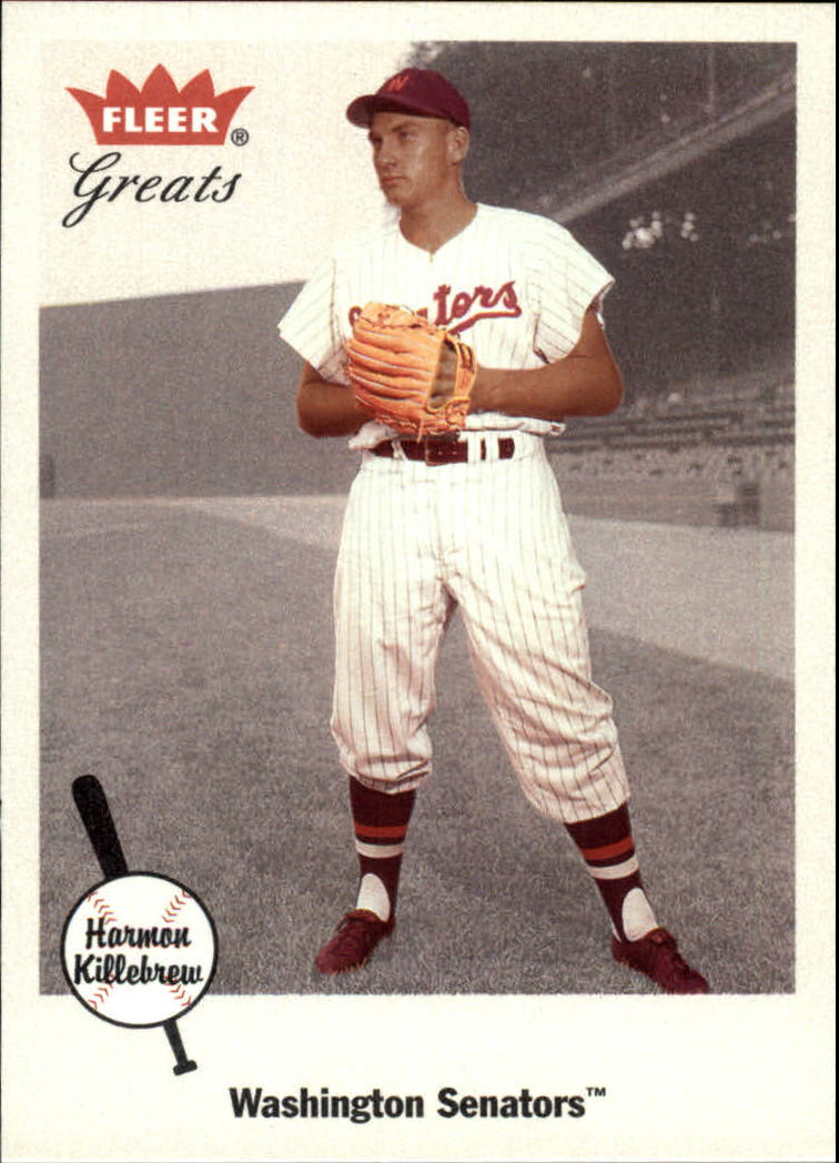 2002 Greats of the Game #8 Harmon Killebrew front image