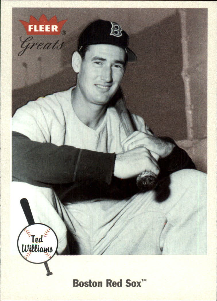 2002 Greats of the Game #9 Ted Williams front image