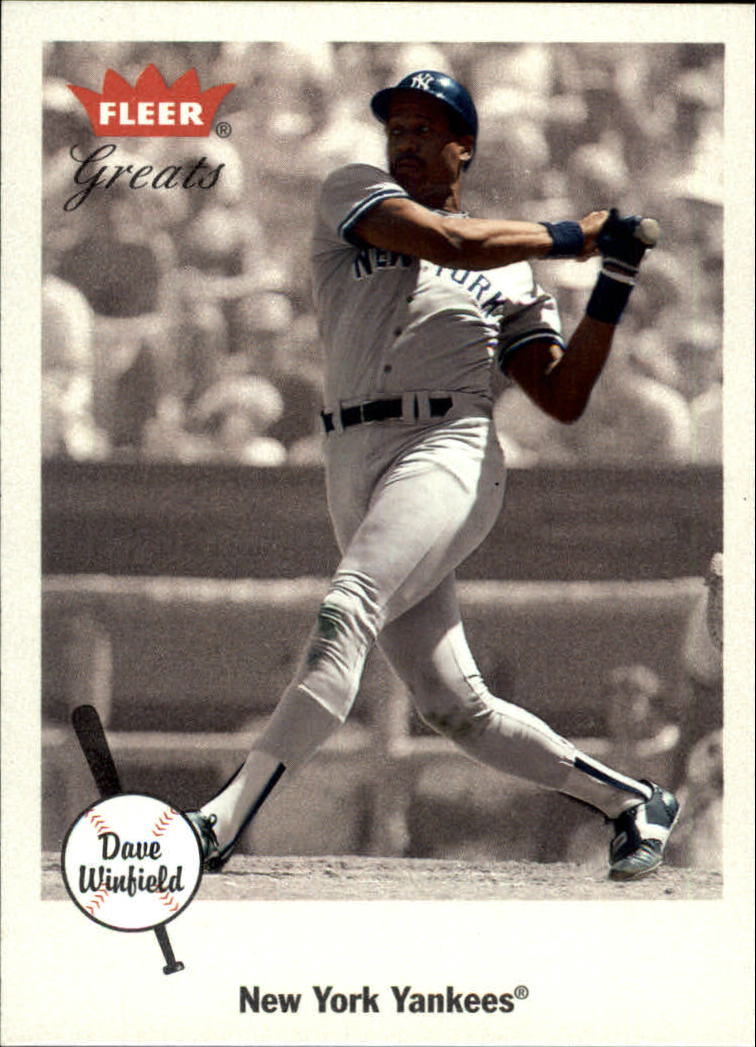 2002 Greats of the Game #10 Dave Winfield