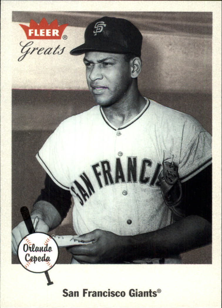2002 Greats of the Game #11 Orlando Cepeda