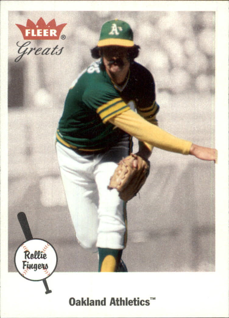 2002 Greats of the Game #17 Rollie Fingers