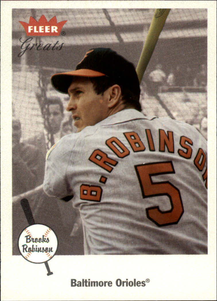 2002 Greats of the Game #18 Brooks Robinson
